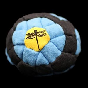 Dragonfly Footbags Bullseye 62 Panel (Hacky Sack) reviews and user guide