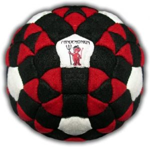 The Omen Footbag 152 Panels Hacky Sack Bag reviews and user guide