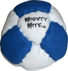 DirtBag Mighty Mite Metal-Filled Footbag reviews and user guide