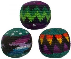 Set of 3 Hacky Sacks, Assorted Colors reviews and user guide